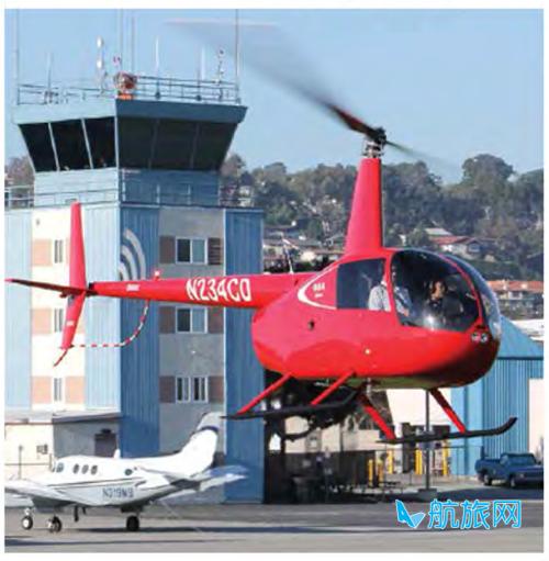 罗宾逊R44 士官生双座位专业飞行培训直升机