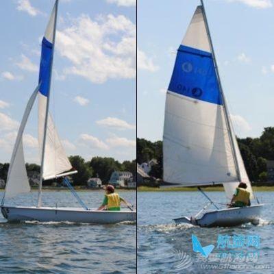 学习驾驶小型帆船