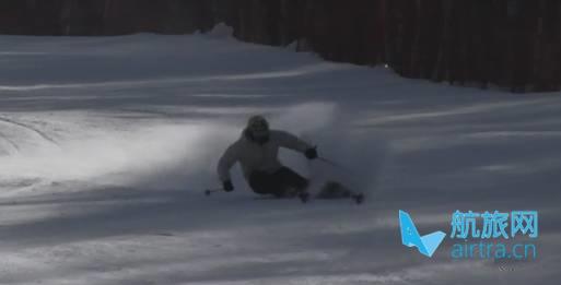 王晓飞滑雪教学——EASY SKI(14)卡宾
