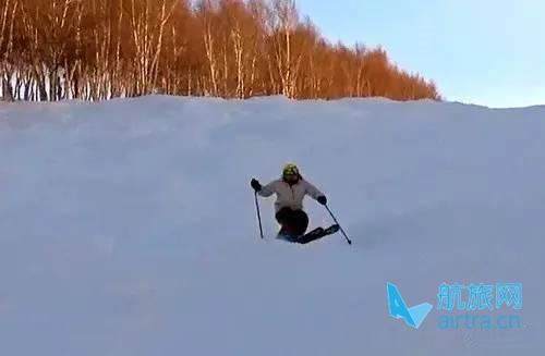 王晓飞滑雪教学——EASY SKI(16)双板综合运用【1】不平整地形