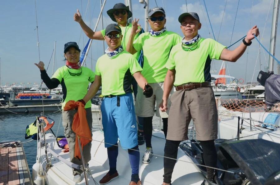 53+,航旅网队扬帆CCOR帆船赛!