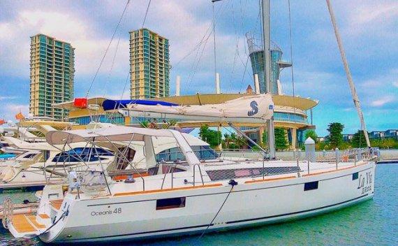 白浪航海中心帆船队La Vie号三亚-威海-韩国招体验船员
