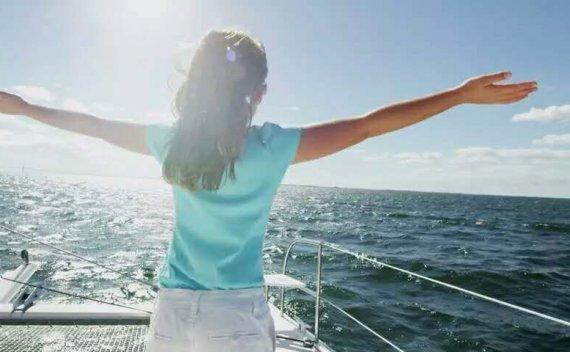 无舵航行,超酷的!