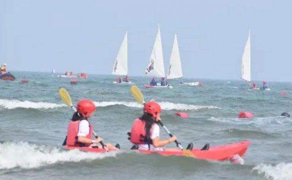 帆船让孩子们成为一个更好的人