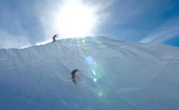 美国光棍山滑雪体验