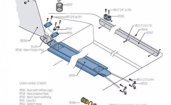再无秘密,解剖Laser激光小帆船!