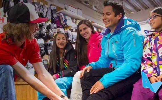 阿斯本雪堆山体验之旅 滑雪装备一站搞定!