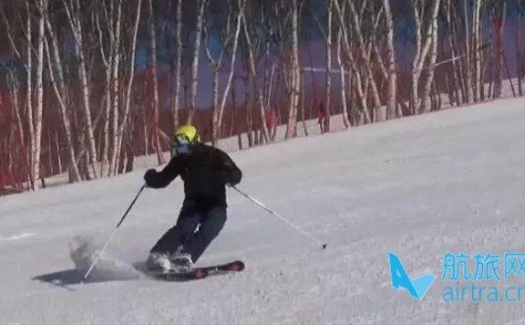 王晓飞滑雪教学——EASY SKI(9)冰球刹