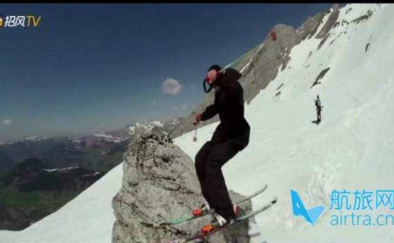 高山滑雪,与雪地间的激情撞击