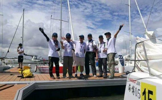 航旅网队扩招新队员及帆船体验