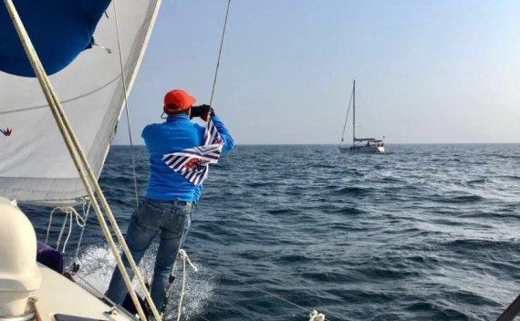 我的第一次帆船长航