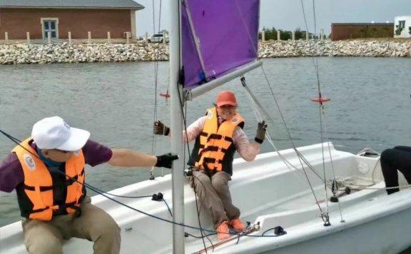 走近帆船,走进帆船