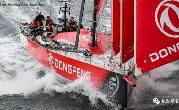 为什么沃尔沃环球帆船赛中东风队同时升了很多面帆?