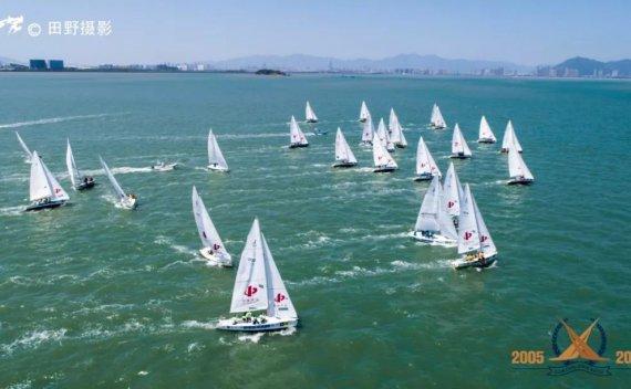2019第十五届中国俱乐部杯帆船挑战赛首日比赛硝烟弥漫