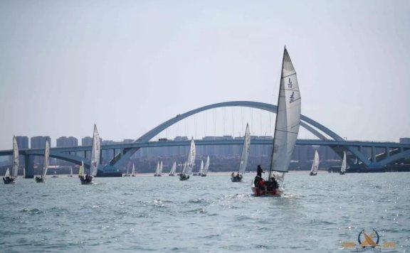 2019中国俱乐部杯帆船挑战赛群发赛颁奖仪式