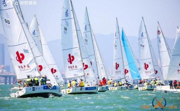 2019中国俱乐部杯帆船挑战赛——风摆下的竞争