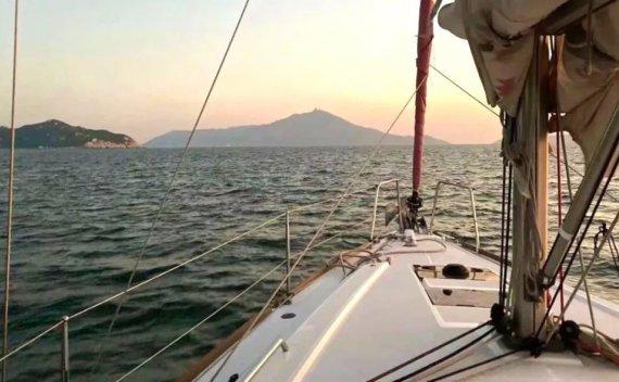 2020年12月26日-2021年1月4日 深圳惠州:美国ASA101+103+104+105帆船航海培训