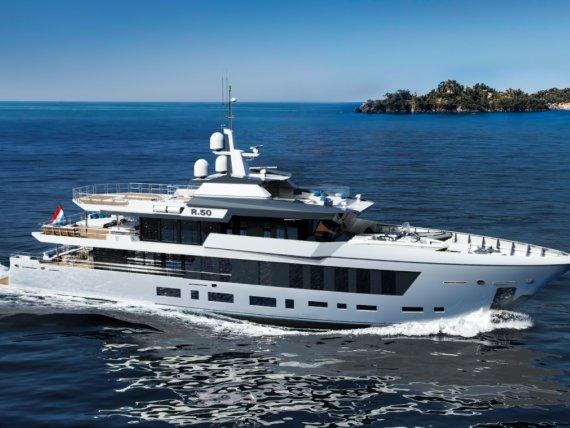 荷兰设计室发布最新游艇概念设计Diana R.50